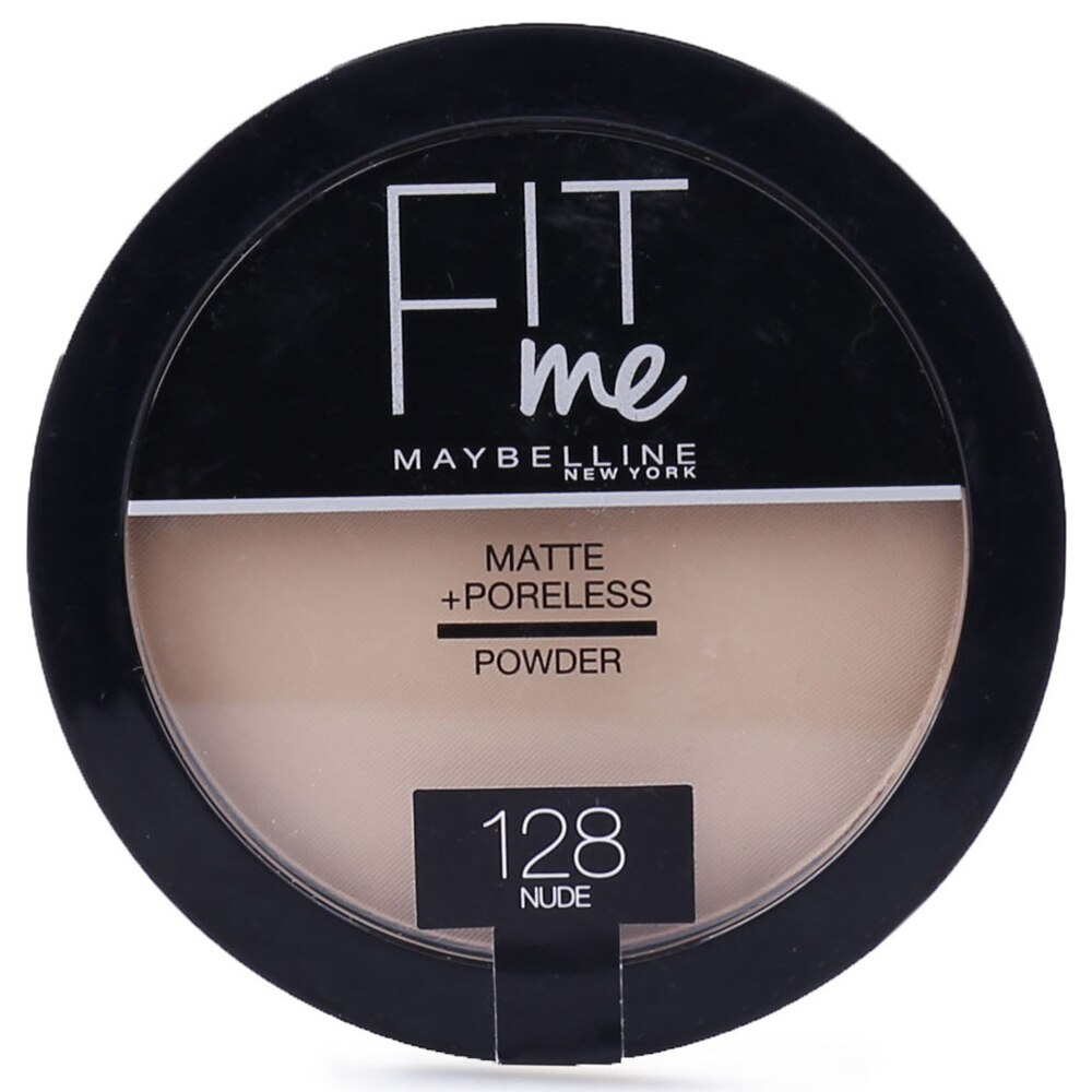 Gratis Maybelline New York Fit Me Matte+Poreless Pudra 128 Nude