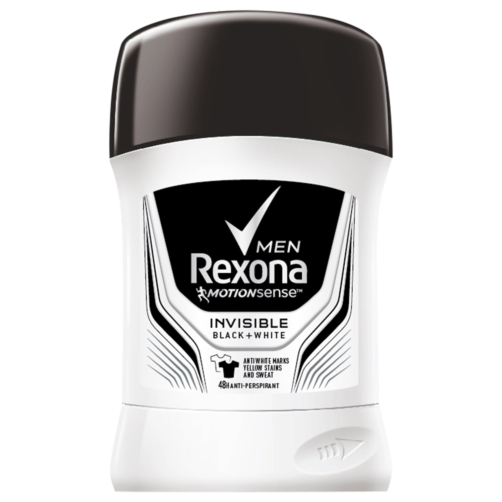 Gratis Rexona Erkek Deodorant Stick Invisible Black +White 50 gr